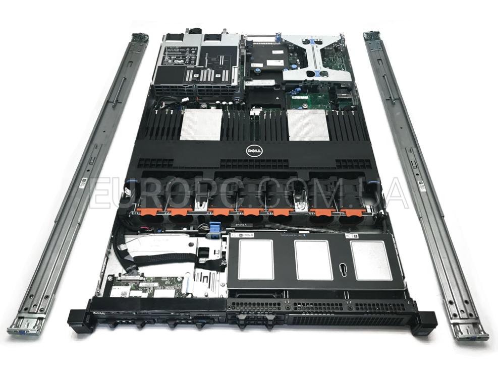 1U Dell PowerEdge r620 2xCPU E5-2660 16xCORE 64GB RAM фото - EuroPC