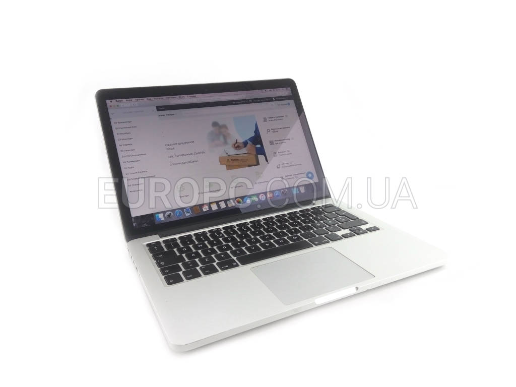 Apple MacBook Pro (Retina, 13-inch, Late 2013) i5-4288U / 8GB / 128GB SSD фото - EuroPC