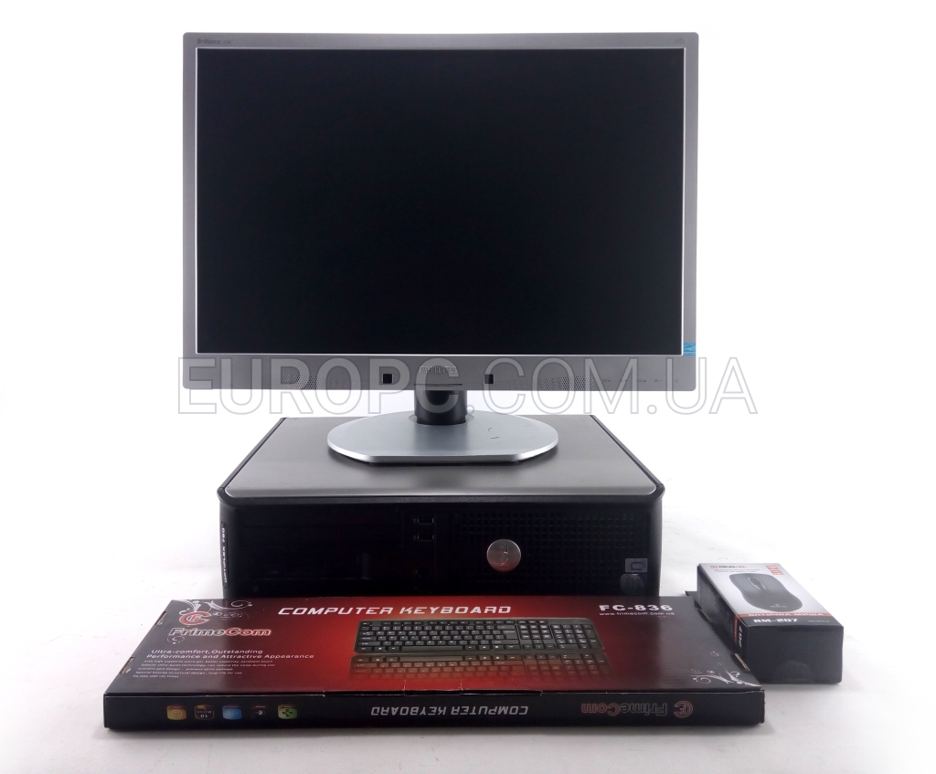 Dell 760 Intel Core 2 Duo E8400 / 4GB DDR2 / 80GB HDD + 22