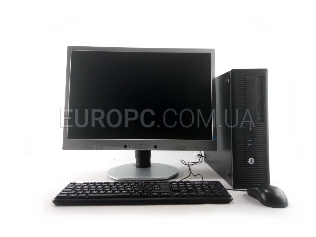 HP EliteDesk 800 G1 SFF i5 4gen / 8GB / 500GB +22