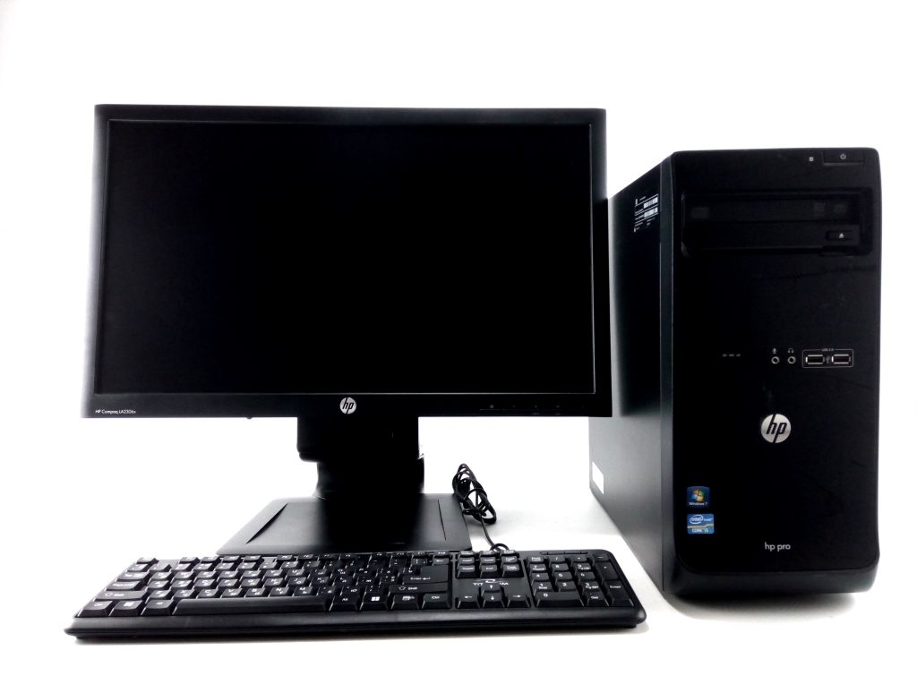 HP  Pro 3500 MT (Intel Core i3-3220 3.3GHz) + 23