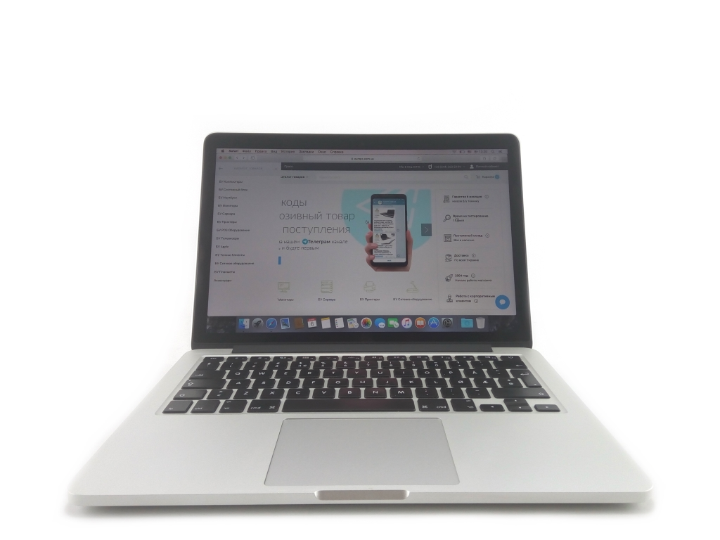 Apple MacBook Pro (Retina, 13-inch, Mid 2014) i5-4278U / 8GB / 128GB SSD фото - EuroPC