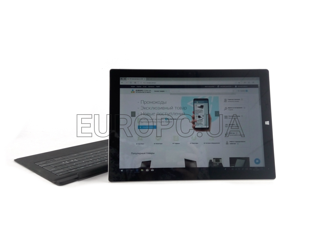 [Tablet/IPS] Microsoft Surface Pro 3 12-Inch i5-4gen / 4GB / 128GB SSD фото - EuroPC