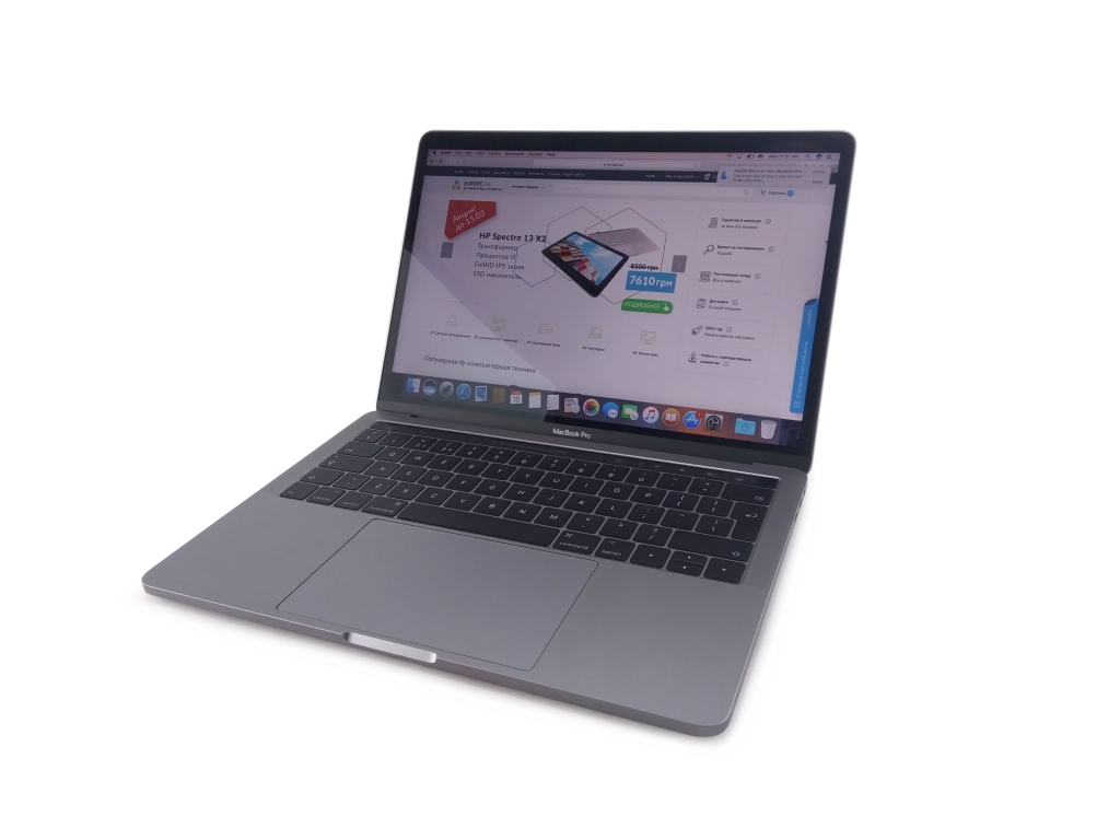 MacBook Pro 14.2 A1706 (13-inch, 2017) Space Gray фото - EuroPC