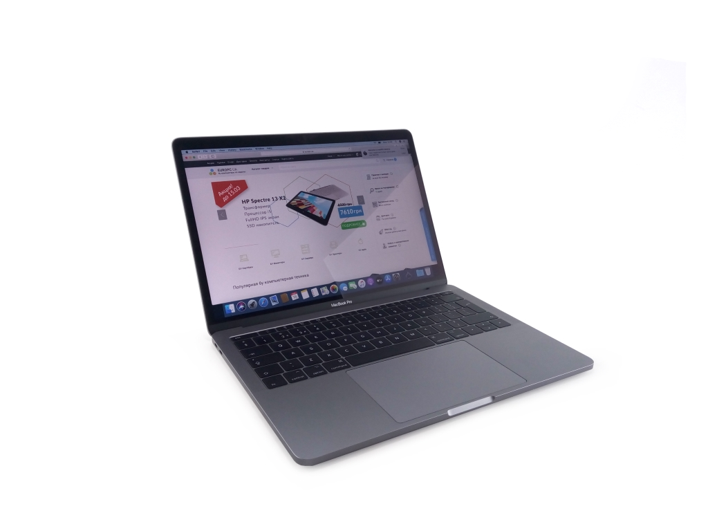 [Уценка] MacBook Pro 14.1 A1708  (13-inch, 2017) Space Gray фото - EuroPC