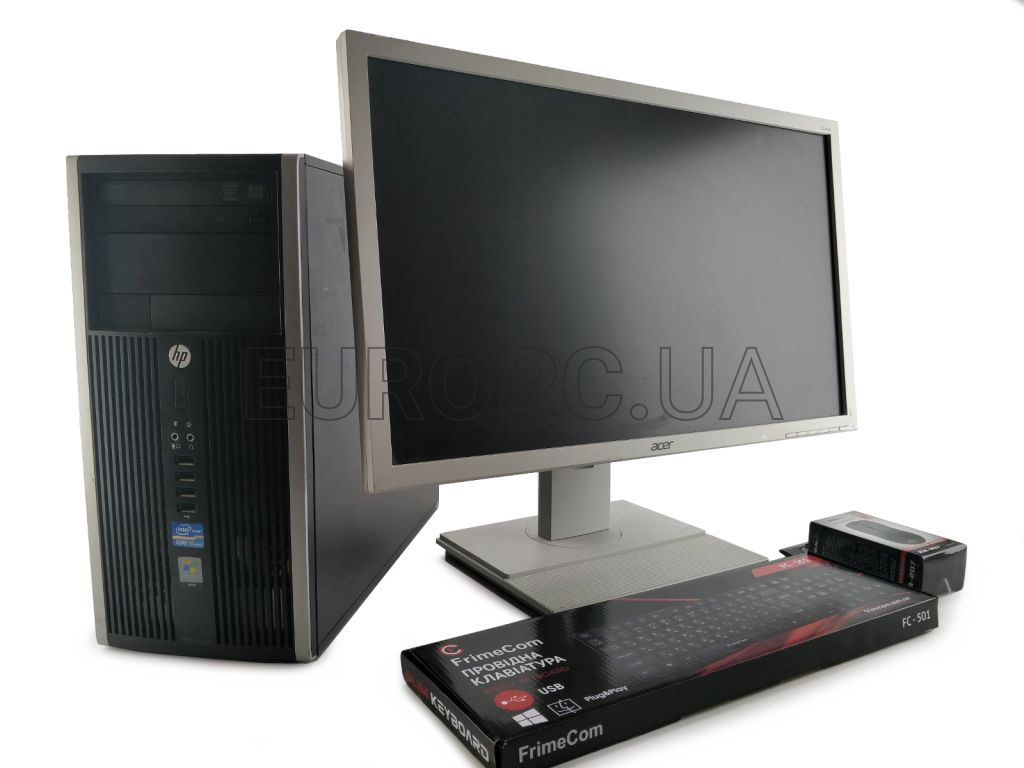 HP 8200 MT i3 2gen / 4GB / 500GB +24
